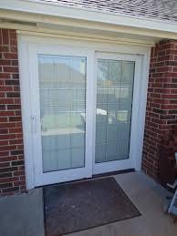 pella sliding patio door adjustment doors ideas retractable screen doors sliding door track repair