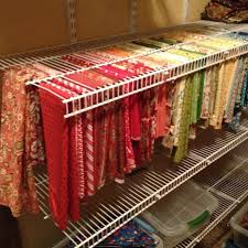 151 best Organizing Fabric Stash images on Pinterest | Sewing ... & Best way ever to store and view quilting fabric. You know exactly what you  have Adamdwight.com