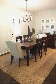 rug under kitchen table best sink yes or no 2018 also fascinating wave flush size tables design collection images