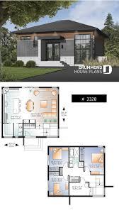 House Design Photos With Floor Plan Small 3 Bedroom Budget Conscious Modern House Plan Open