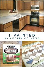 how to paint a countertop i painted my kitchen counters painting laminate countertops look like white