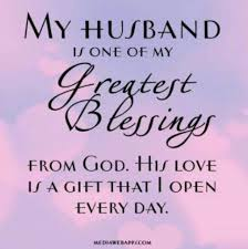 Thank You God For Blessing Me My Husband Is Awesome