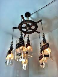 driftwood lighting. Driftwood Lighting Best Bottle Lights Images On Glass Art Pertaining To Modern Property Whiskey .