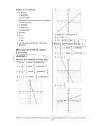 writing linear equations module quiz b answers tessshlo