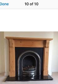 cast iron fireplace surround and hearth