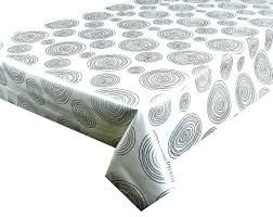 clear vinyl tablecloth target wipe clean round dining kitchen 70 inch black tablec
