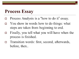 types of essays lane definition essay iuml macr three steps to process essay iuml129macr process analysis is a how to do it essay