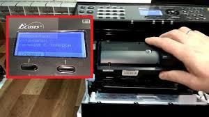 Неправильно установлен <b>картридж</b> с тонером | Kyocera - YouTube