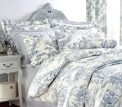 toile comforter set vintage bedroom sign with blue duvet cover pure beneficial bedding valuable 6 toile toile comforter set