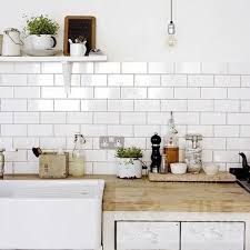 white kitchen wall tiles. Picture Of Trusley White Wall Kitchen Tiles S