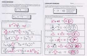 Covalent And Ionic Bond Worksheet - wiildcreative