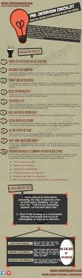 interview tips com pre interview checklist