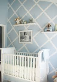 Small Picture Design Reveal Modern Baby Blue Cross walls Nursery and Walls