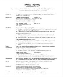 Career Objective For Mechanical Engineer Resume Career Objective In Resume For Mechanical Engineer Hvac