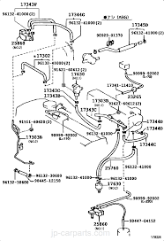 Vacuum piping toyota part list|jp carparts 1995 toyota pickup vacuum diagram select image
