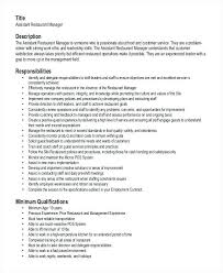 40 Awesome Restaurant General Manager Resume Wtfmaths Unique Restaurant General Manager Resume