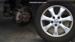 Toyota Camry Tires General Information And Specs - YouTube