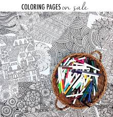 Coloring Book Pages Alisa Burke