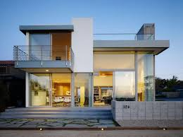 House Design 2 Storey Modern Contemporary 2 Story House Design With Deck