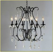 black wrought iron chandelier with crystals images dazzling black intended for brilliant property wrought iron crystal chandelier plan