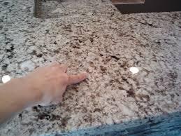 filling seams in granite countertops