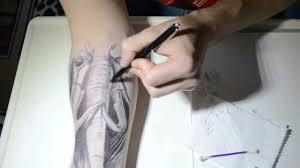 Ballpoint Pen Tattoo Xd