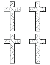 Cross Coloring Pages Free Coloring Beautiful Page