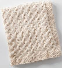 Knitting Patterns For Baby Blankets