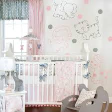full size of pink and grey elephant crib bedding deer set blanket erfly hot