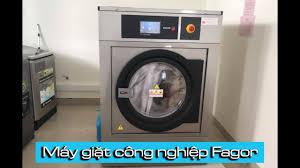 Máy giặt quần áo công nghiệp Fagor - Chuyên dụng cho bệnh viện, khách sạn -  YouTube