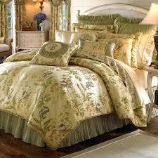 iris jacquard woven fl 4 piece comforter set antique rose vintage