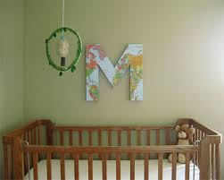 18 make cardboard letters and numbers for a blank wall over your baby s nursery on diy wall art for baby girl nursery with 34 amazing wall art ideas you can do yourself to bring a blank