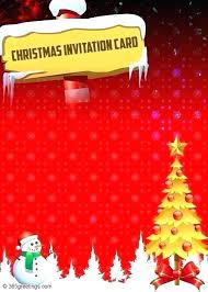 Word Templates Christmas Free Recipe Card Templates Word Invitation Template