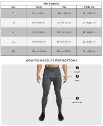 Gymshark Size Chart Mens Size Guide Gymshark