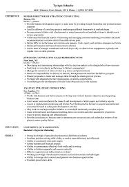 Strategy Consulting Resume Sample Strategic Consulting Resume Samples Velvet Jobs 24