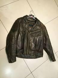 hein gericke firstgear chief leather motorcycle jacket