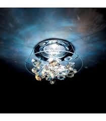 swarovski ice antique green crystal chrome matte recessed lighting a8992nr040018