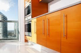 Captivating Modern Kitchen With Slab Cabinet Doors 533766531