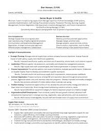 Resume Example Retail Buyer Sample Jobn Planner Description