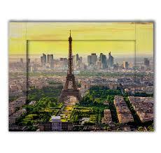 <b>Картина с арт рамой</b> Панорама Париж 60 х 80 см