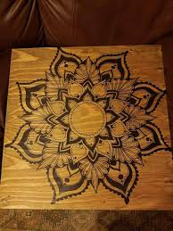 >mandala wall decor wood mandala wall art wooden mandala