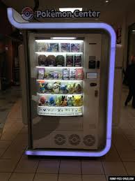 Pokemon Center Vending Machine Impressive Pokemon Center Vending Machine My Life Is Complete Now Where Can