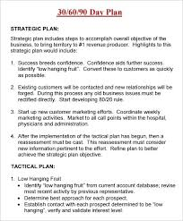 90 Day Action Plan Template Amartyasen Co
