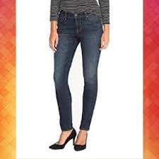 Mid Rise Curvy Skinny Jeans Pants Women 12 Nwt