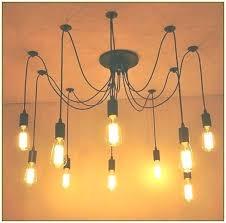 edison bulb chandelier india light uk