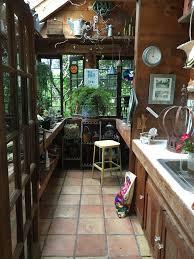 a gorgeous rustic garden potting shed tour