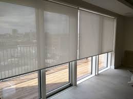 sunscreen roller blinds floor to ceiling windows sliding doors on for french glass door curtain ideas wind curtains or where privacy shades custom patio