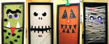decorating office for halloween. Halloween Office Decor Decorations Ideas New Door Nice Decoration Decorating . For