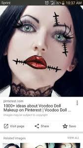 easy voodoo doll makeup mugeek vidalondon