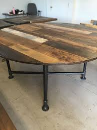 rustic round table. Rustic Round Dining Table Pertaining To Best 25 Ideas On Pinterest Industrial Idea 10 L